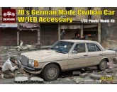 70's German Made Civilian Car W/IED Accessary