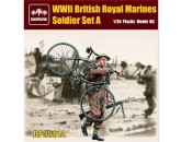 WWII British Royal Marines Soldier Set A