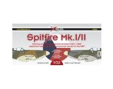 DK decals 32002 - 1:32 Supermarine Spitfire airplanes used by the Czechoslovak airmen in the RAF
