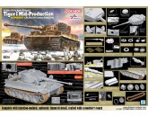 Dragon 6624 1/35 Sd.Kfz.181 Pz.Kpfw.VI Ausf.E Tiger I Mid Production w/Zimmerit s.Pz.Abt.506 Eastern Front 1944