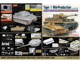 Dragon 6866 HOME → DRAGON PLASTIC MODEL KITS → 6866 Tiger I Mid-Production w/Zimmerit mit Borgward IV Ausf.A Heavy Demolition Charge Vehicle