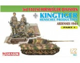 Dragon 7361 - 3rd Fallschirmjager Division + Kingtiger Henschel Production (Ardennes 1944)