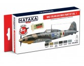 HTK-AS103  WW2 Italian Air Force Paint set vol. 1