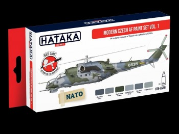 HTK-AS89 Modern Czech AF paint set vol.1