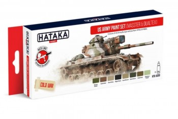 HTK-AS99 US Army paint set (MASSTER & DUALTEX)