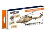 HTK-CS87 British AAC Helicopters paint set