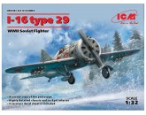 ICM 32003 I-16 type 29, WWII Soviet Fighter