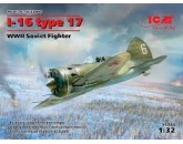 ICM 32005 - I-16 type 17, WWII Soviet Fighter