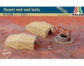 Desert well and tents