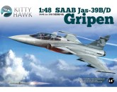 SAAB Jas-39B/D Gripen Kitty Hawk -80118 - 1:48