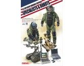 U.S. EXPLOSIVE ORDANCE DISPOSAL SPECIALISTS & ROBOTS