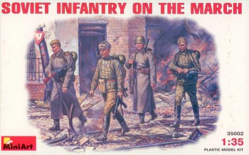 Miniart 35002 Soviet Infantry on the March
