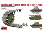 WORKABLE TRACK LINK SET for T-70M Light Tank MiniArt - Nr. 35146