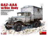 GAZ-AAA w/Box Body MiniArt - Nr. 35183