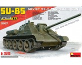 SU-85 Soviet Self-Propelled Gun Mod.1943 Mid Production Interior Kit