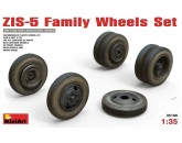 ZIS-5 Family Wheels Set MiniArt - Nr. 35196