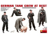 German Tank Crew at Rest MiniArt - Nr. 35198