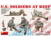 U.S. Soldiers at Rest MiniArt - Nr. 35200
