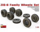 ZIS-6 Family Wheels Set MiniArt - Nr. 35201
