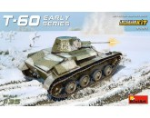 Miniart 35215 Soviet Light Tank T-60. Interior Kit (early series)