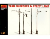 Tram Supports + Street Lamp