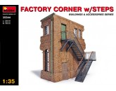 MiniArt 35544 Factory corner with steps
