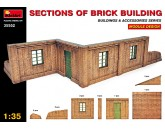 Sections of brick bulding