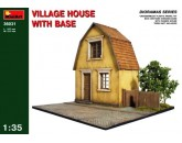 Village house with base MiniArt 36031