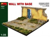 Wall with base MiniArt 36035