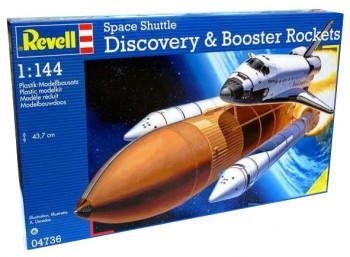 Revell 04736 - Space Shuttle Discovery & Booster Rockets