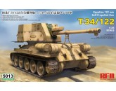 RYE FIELD MODEL - RM-5013 T-34/122 Egyptian