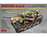 Rye Field Model RM-5019 Panther Ausf.G w/ full interior