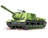 ISU-152 Sov. Self-propelled Gun